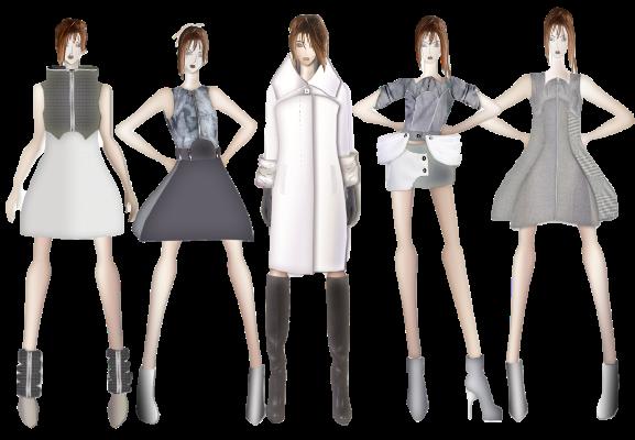 Дипломная работа Благовой Татьяны Дизайн костюма  Дипломная работа Татьяны Благовой Разработка коллекции моделей женской одежды Фантомы замка Нойшванштайн
