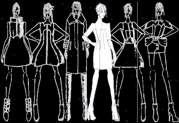 Малый объем... В начале XX века произошло сильное упрощение женской одежды, исчезли неудобные корсеты
